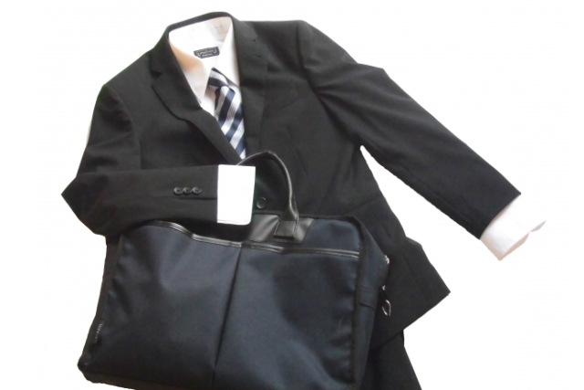 スーツやネクタイ 大切